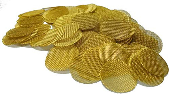 STAINLESS STEEL SCREENS PIPE GOLD (GSCREENGOLD)