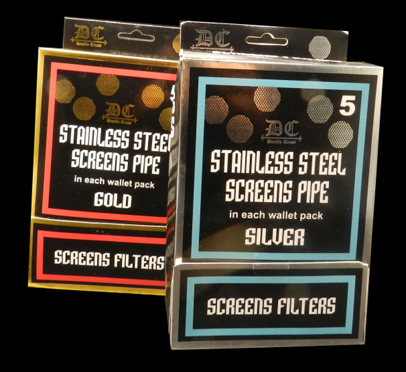 STAINLESS STEEL SCREENS PIPE GOLD ( MSRP $ 9.99 EACH )