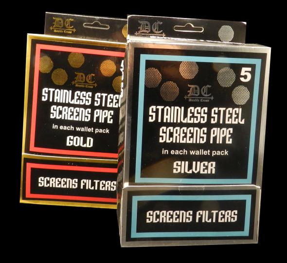STAINLESS STEEL SCREENS PIPE SILVER ( MSRP $ 9.99 EACH )