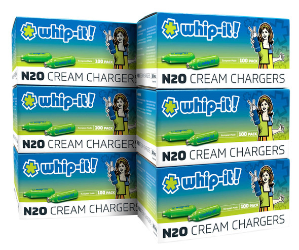 WHIP IT CREAM CHARGER 100CT 6BOX PER CASE ( MSRP $82.99 PACK )