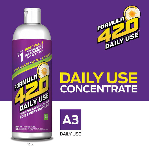 420 DAILY USE  PIPE CLEANERS 16OZ ( MSRP $ 9.99 EACH )