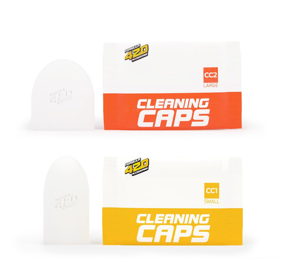 420 CLEANERS -  CLEANING CAPS 2ct/ PACK  (MSRP 4.99 EACH )