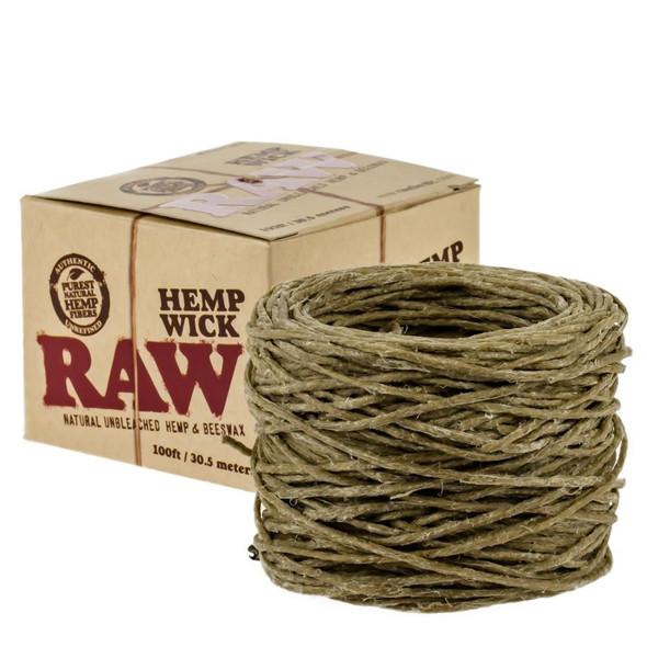RAW HEMP WICK BALL 100FT/30.5M ( MSRP $ 24.99 EACH )