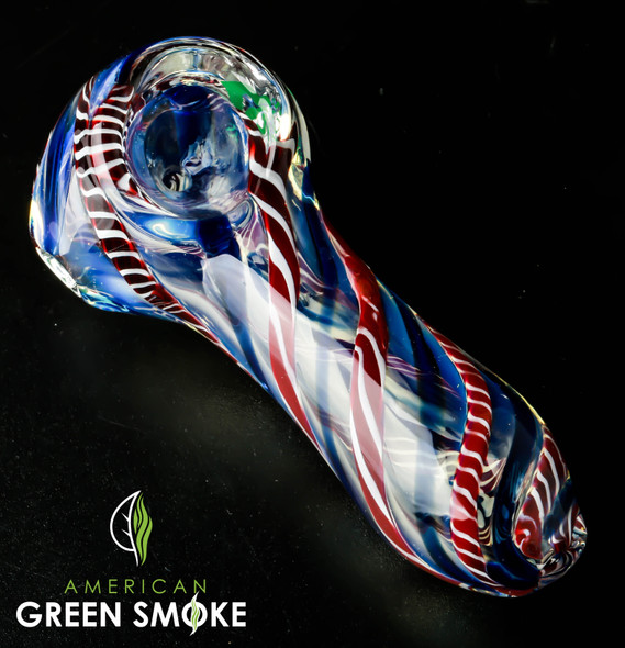 """4"""" HEAVY GLASS HAND PIPE ( MSRP $19.99 EACH )"""