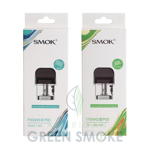 SMOK NOVO 2 PODS  3PK ( MSRP $14.99 EACH )