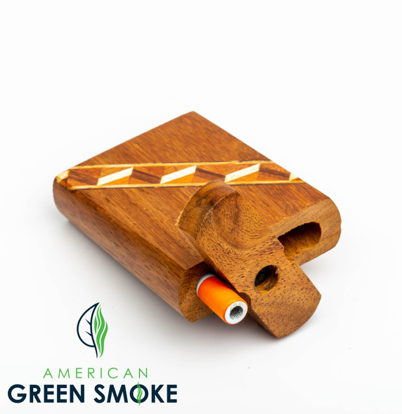 """DUGOUT 4"""" WOODEN WITH METAL CIG (MSRP $9.99 EACH)"""