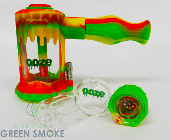 OOZE CLOBB SILICONE WATERPIPE & NECTAR COLLECTOR (MSRP $79.99 EACH)