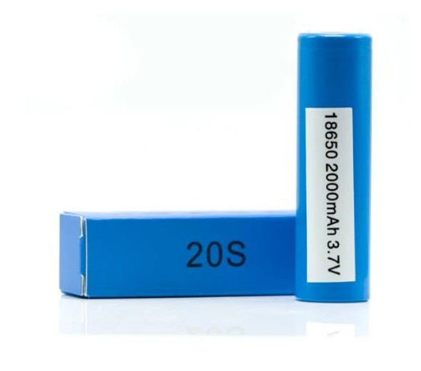 SAMSUNG 20S 18650 VAPE BATTERY 2000 mAH ( MSRP $8.99 EACH )
