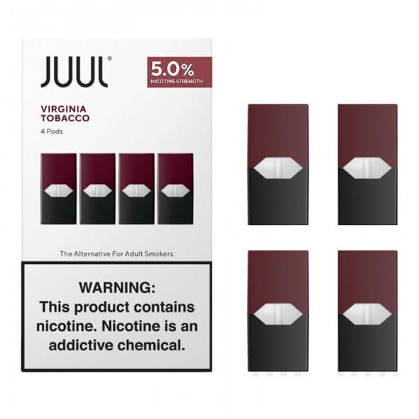 JUUL PODS 2.8ML 8CT/BOX  ( MSRP $19.99 EACH )