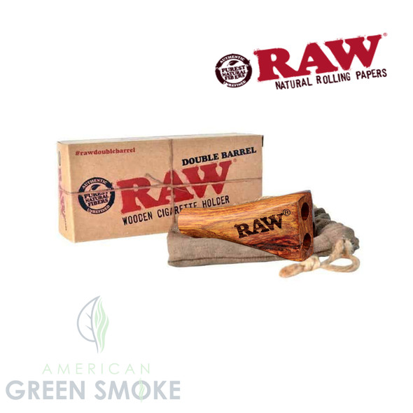 RAW DOUBLE BARRERL CIG HOLDER 1 1/4 SIZE (MSRP $14.99 EACH)