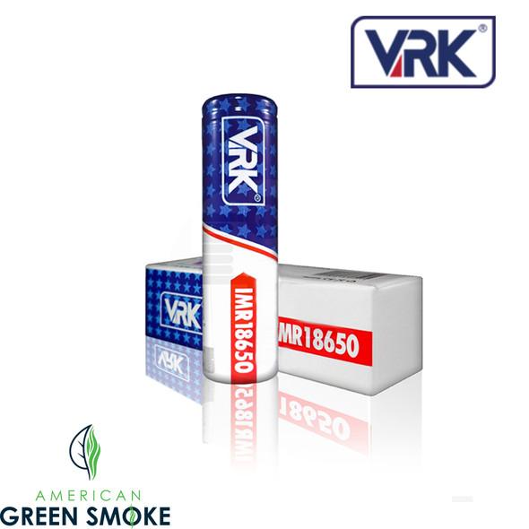 VRK 18650 BATTERY 3000mAH (MSRP $11.99 EACH)