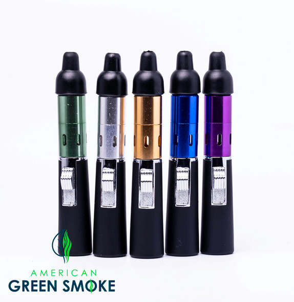 METAL HANDPIPE WITH BUILTIN LIGHTER ASSORTED COLORS (MSRP $9.99 EACH)