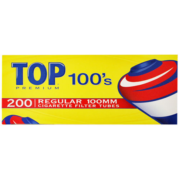 TOP-100MM CIGARETTE TUBES ( MSRP $ 6.99 EACH )