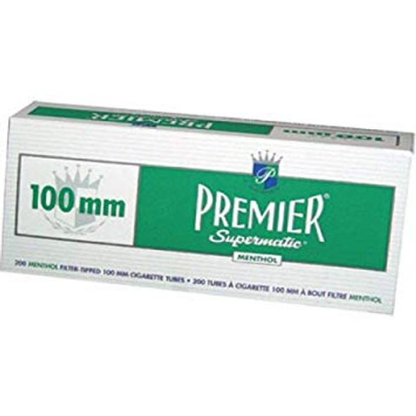PREMIER - 100MM CIGARETTE TUBES  250CT ( MSRP $ 7.99 EACH )