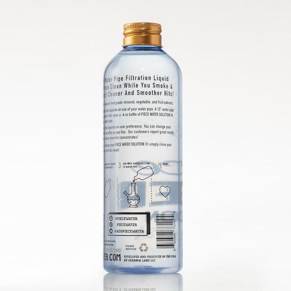 PIECE WATER SOLUTION 4OZ BOTTLES (MSRP $6.99 EACH)