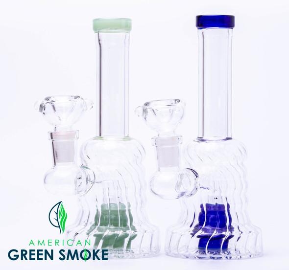 "6"" GLASS WATERPIPE (MSRP $24.99)"