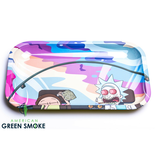 SMOKE ARSENAL - LOST IN THE SAUCE MEDIUM ROLLING TRAYS (MSRP $9.99 EACH)