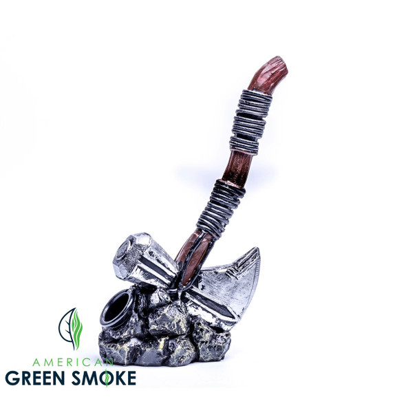 THOR AXE DESIGN CLAY PIPE (MSRP $12.99 EACH)