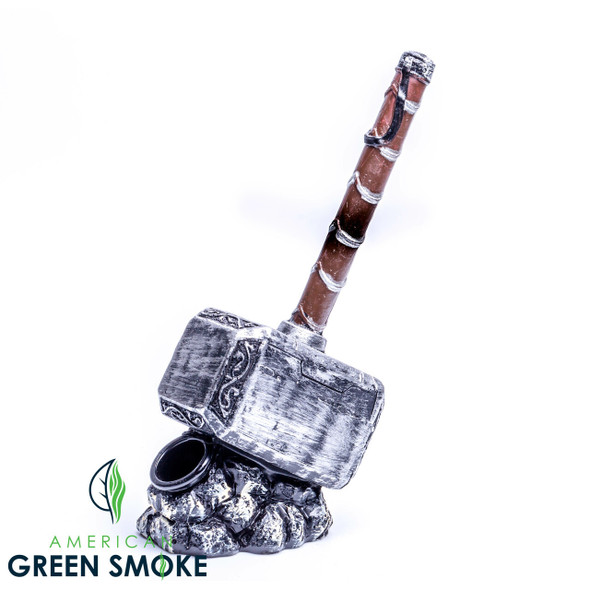 THOR HAMMER DESIGN CLAY PIPE (MSRP $12.99 EACH)