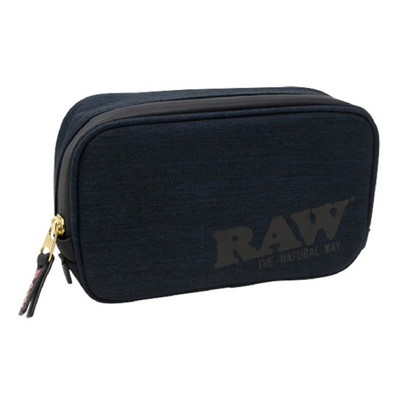 RAW - SMELL PROOF SMOKERS POUCH BLACK (MSRP $59.99 EACH)