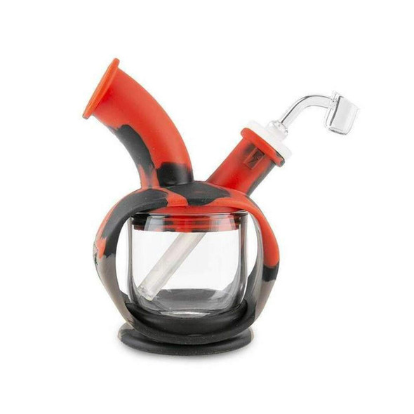 OOZE - KETTLE SILICONE GLASS WATERPIPE (MSRP $59.99 EACH)