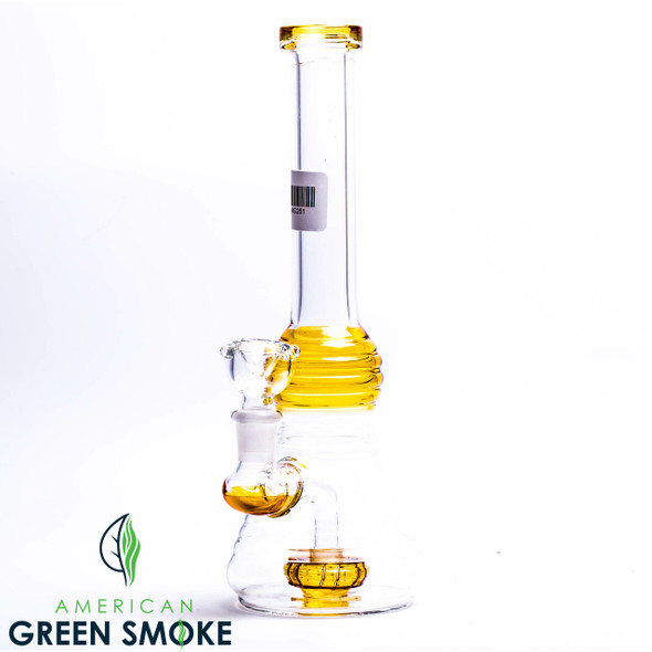 """10"""" COLOR WATERPIPE WITH PERC (MSRP $34.99 EACH)"""