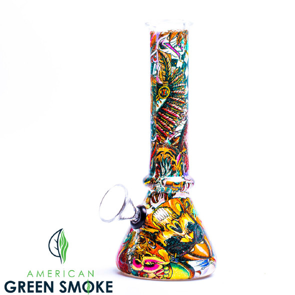 """6"""" WATERPIPE WITH ASSORTED DESIGNS (MSRP $19.99 EACH)"""