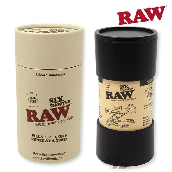 RAW - SIX SHOOTER FOR LEAN SIZE CONE (MSRP $29.99 EACH)