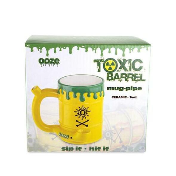 OOZE TOXIC BARREL CERAMIC MUG - PIPE (MSRP $29.99 EACH)