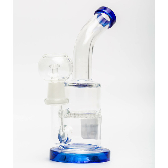 """6"""" WATERPIPE WITH HONEYCOMB DISC PERC (MSRP $19.99 EACH)"""