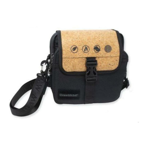 RAW SMOKERS DAY BAG WITH CORK AND A REMOVABLE FOIL POUCH (MSRP $99.99 EACH)
