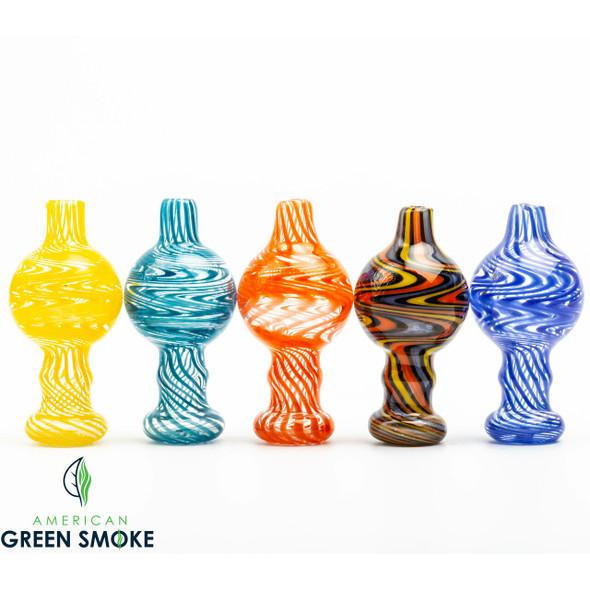 AMERICAN COLOR GLASS CARB CAP (MSRP $7.99 EACH)