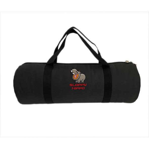 SLOPPY HIPPO BLACK DUFFLE BAG (MSRP $49.99 EACH)