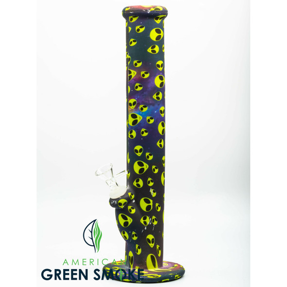 ASSORTED DESIGNS SILICONE WATERPIPE (MSRP $32.99 EACH)