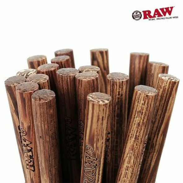 RAW  SMALL WOODEN POKER (DISPLAY OF 50 COUNT) (MSRP $0.99 EACH)
