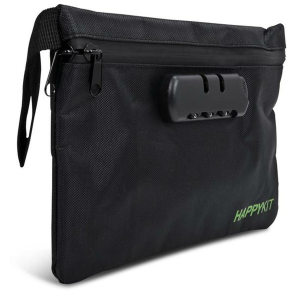 THE HAPPY KIT POUCH - LOCKABLE DAB TRAVEL KIT (MSRP $39.99)