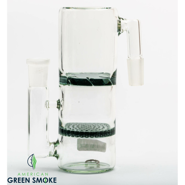HONEYCOMB AND TORNADO ASH CATCHER WITH DUAL PERC (MSRP $29.99 EACH)
