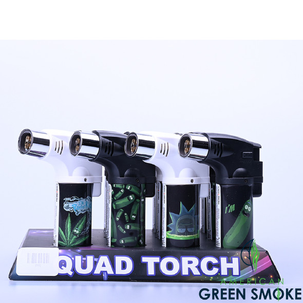 TECHNO TORCH (DISPLAY OF 12 COUNT) -  RM /BOX (MSRP $15.99 EACH)