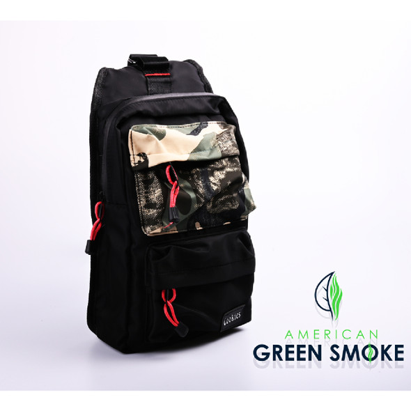 SMELL PROOF BAG BLACK SMALL - BLACK CAMO  (MSRP $25.99 EACH)