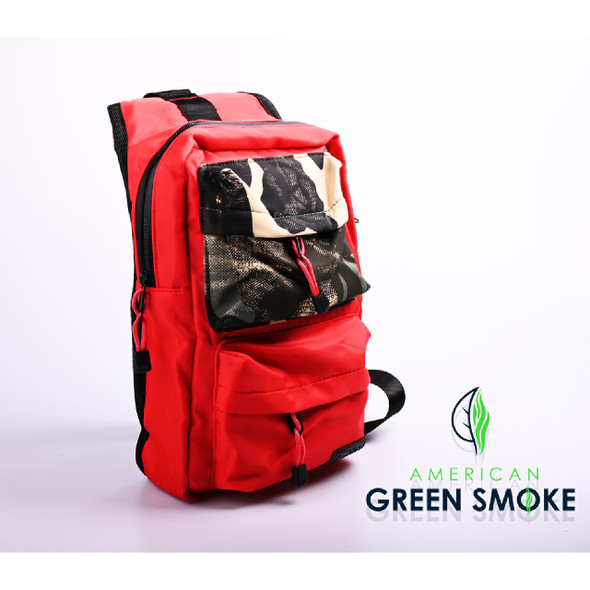SMELL PROOF BAG RED SMALL - RED CAMO  (MSRP $25.99 EACH)