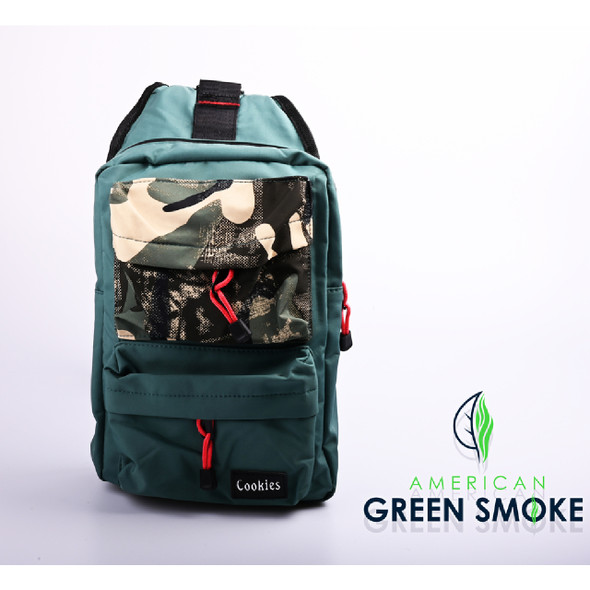SMELL PROOF BAG TEAL SMALL - TEAL CAMO  (MSRP $25.99 EACH)