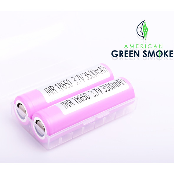 SAMSUNG 18650 BATTERY 3500mAH WITH  (CASE OF 2 COUNT)  (MSRP $14.99 EACH)