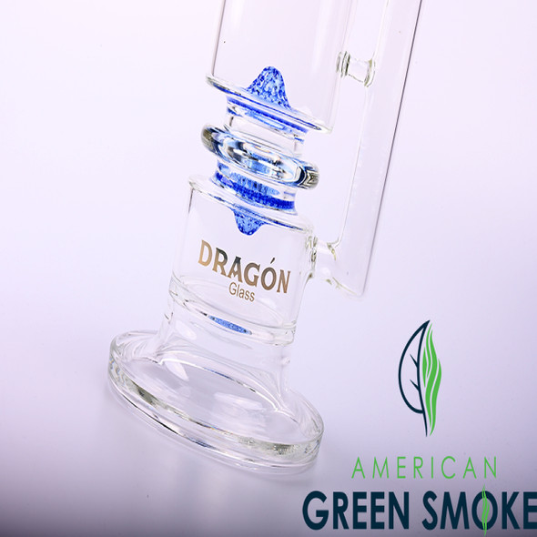 """DRAGON GLASS 18"""" 5MM HEAVY WATERPIPE WITH 4 HONEYCOMB PERC (MSRP $109.99 EACH)"""