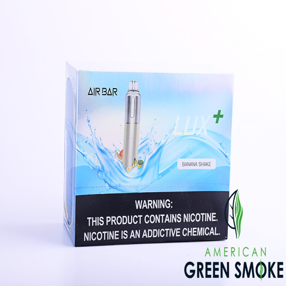AIR BAR LUX PLUS DISPOSABLE 2000 PUFF BOX OF 10 COUNT (MSRP $19.99 EACH)