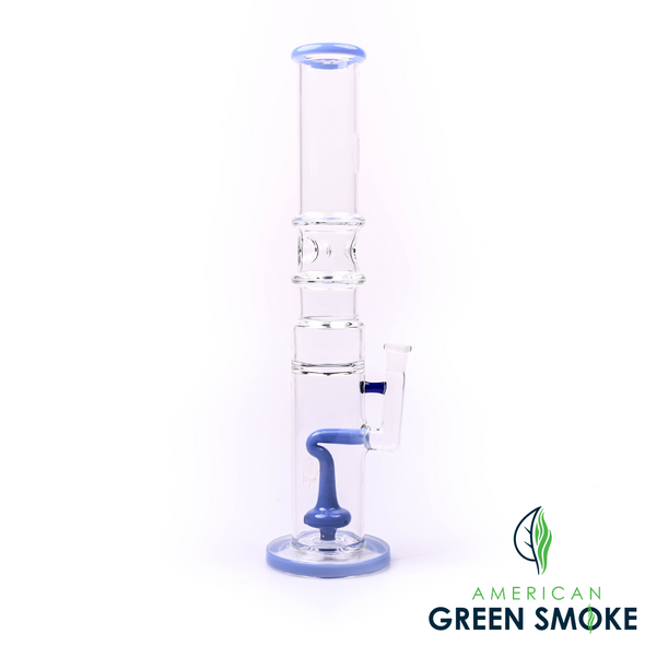 """GLASS 16"""" INCH STRAIGHT CYLINDER GLASS WATERPIPE (MSRP $89.99 EACH)"""