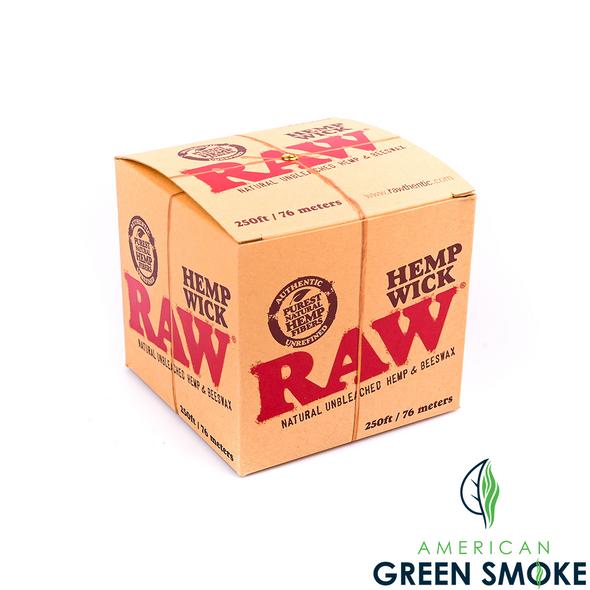 RAW HEMP WICK 250 FT (MSRP $49.99 EACH)