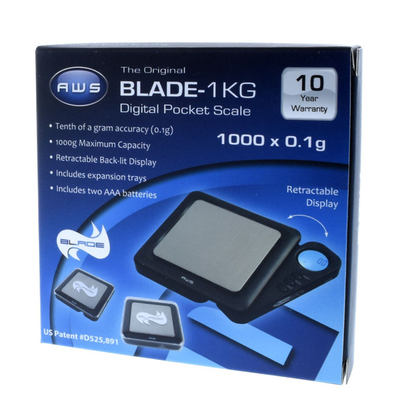 AMERICAN WEIGHT SCALE BLADE - 1KG (1000 X 0.1 GRM) ( MSRP $19.99 EACH )