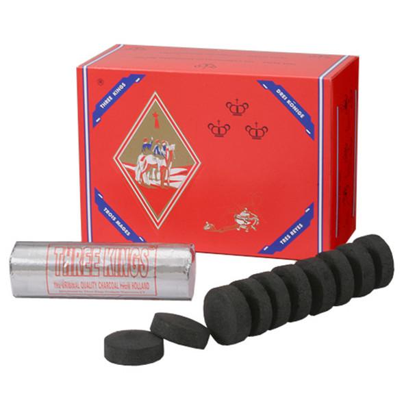 Three Kings - 33MM Hookah Charcoal (MSRP $25.99)