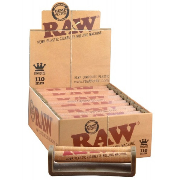 RAW ROLLING MACHINE KING SIZE 110MM ( MSRP 5.99 EACH )
