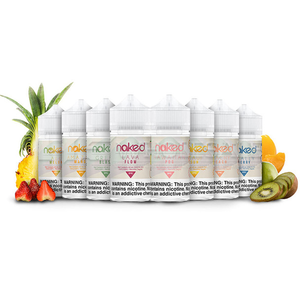NAKED 100 E-LIQUID 60 ML (MSRP $24.99 EACH )
